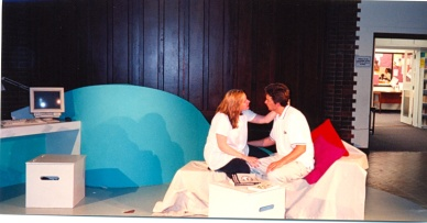 Mike Berenger and Jane Bellamy in The Tameness of a Wolf by Lyn Ferrand