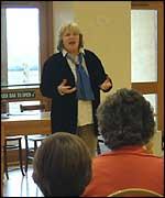 Lyn Ferrand leads the debate.